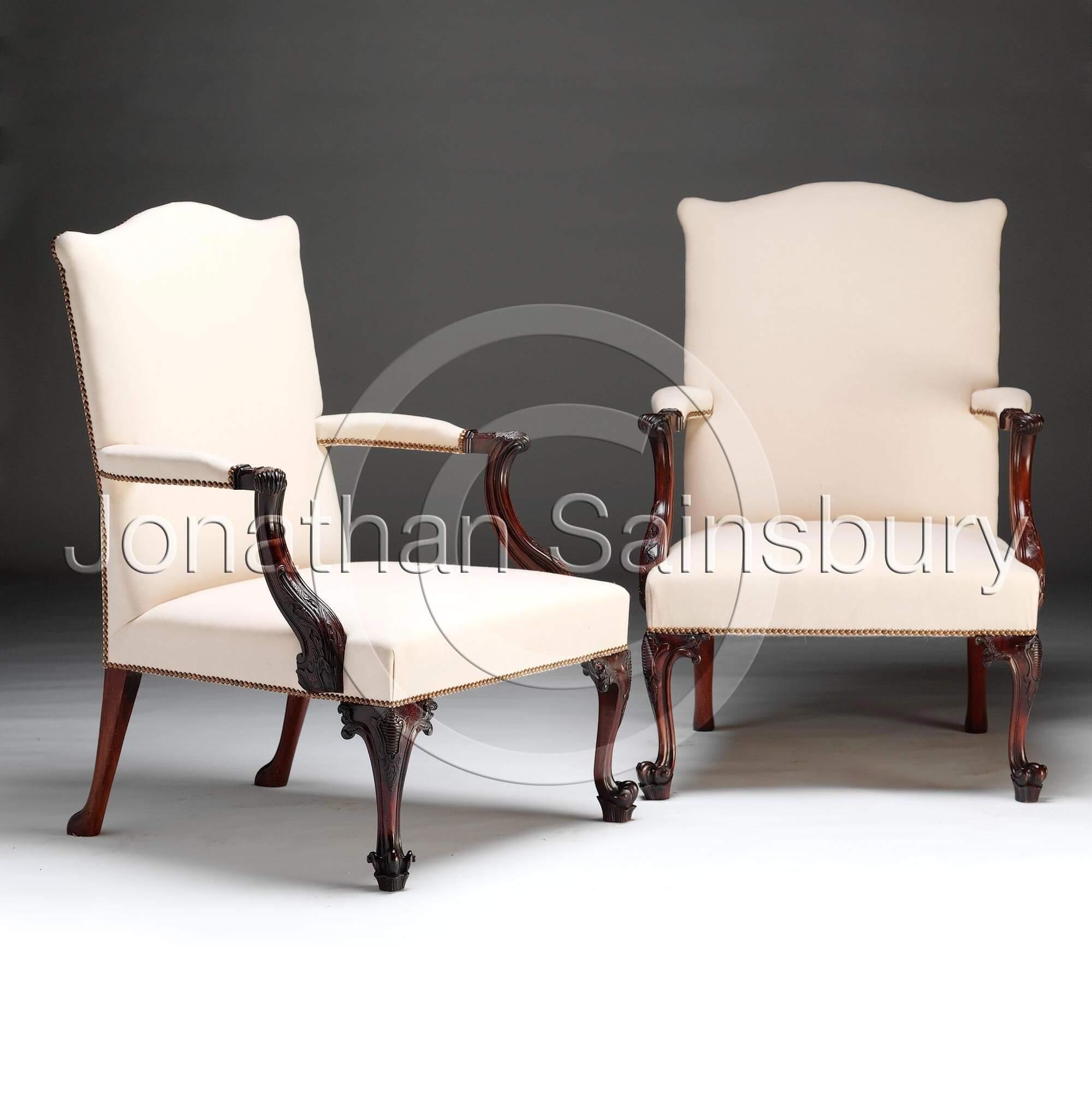 Chippendale Gainsborough Chair
