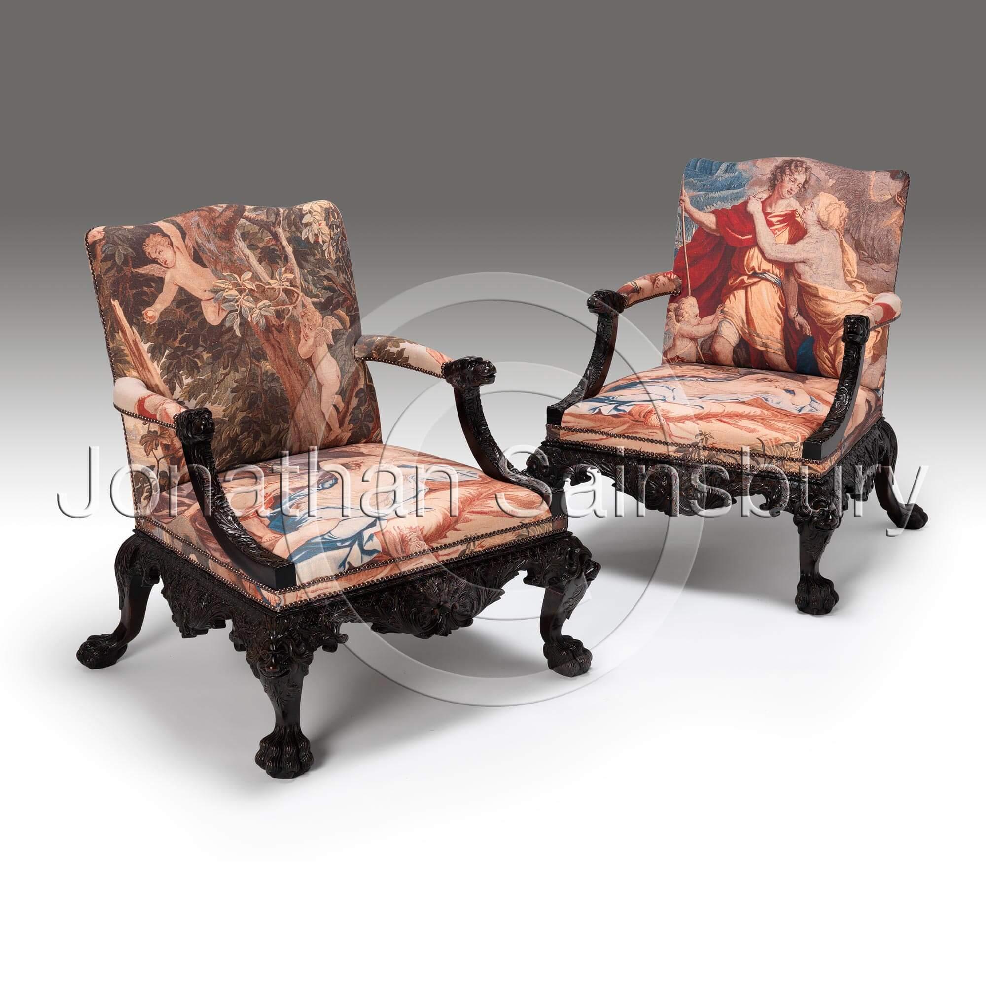 jonathan ii collection library george furniture sainsbury chair