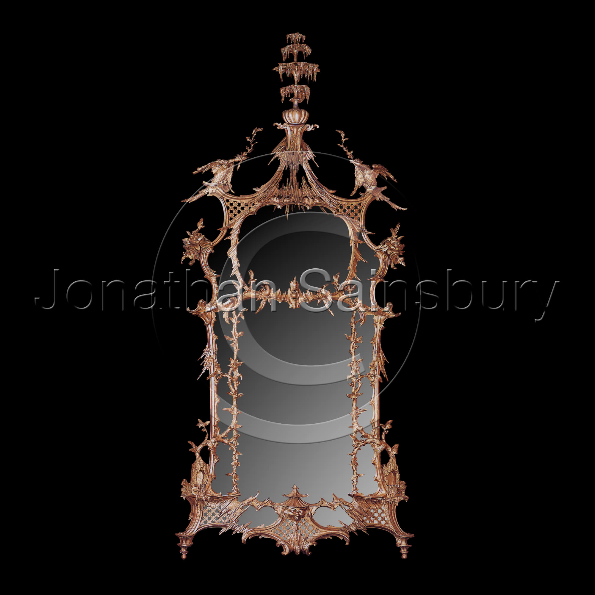 St Giles House Mirror