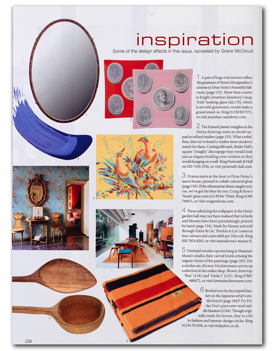 World of Interiors Article June 2019