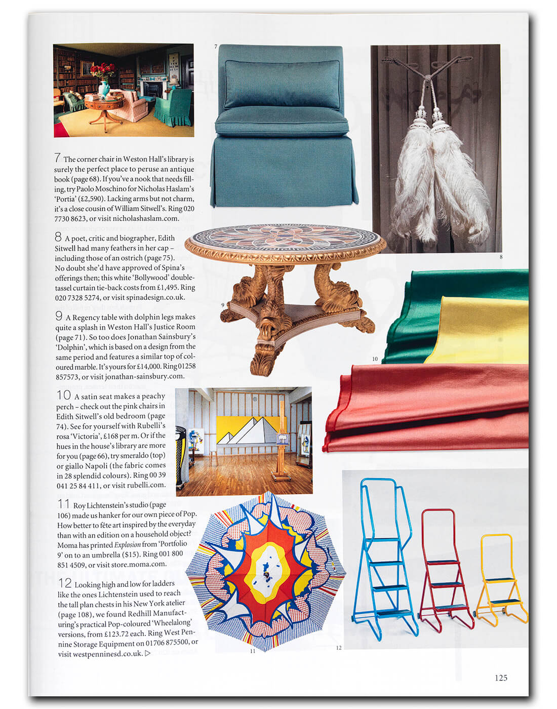 The World of Interiors September-2019 Content