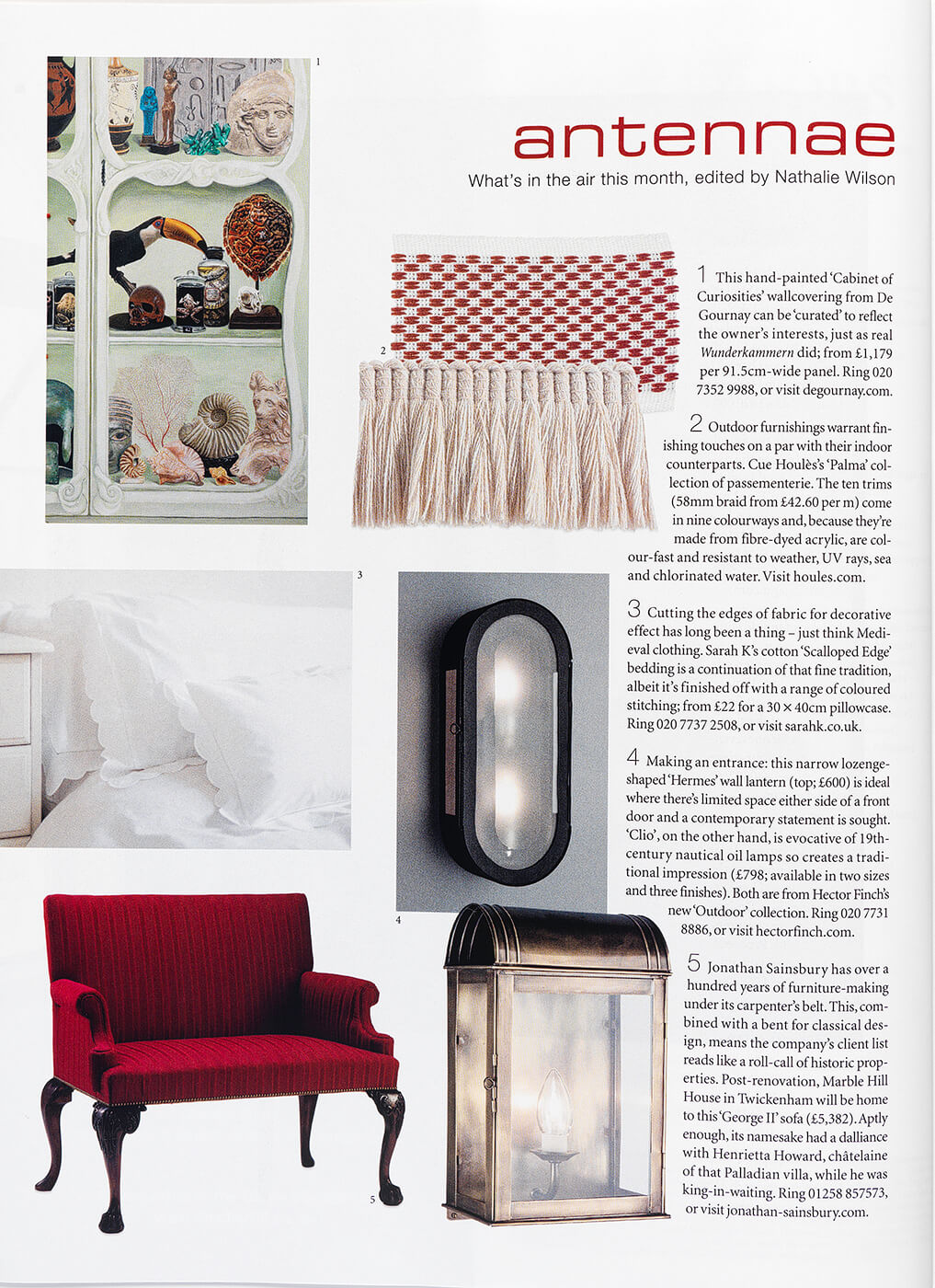 The World of Interiors Page 1 July 2020