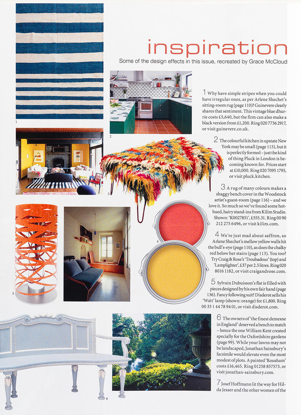 The World of Interiors Page 2 July 2020
